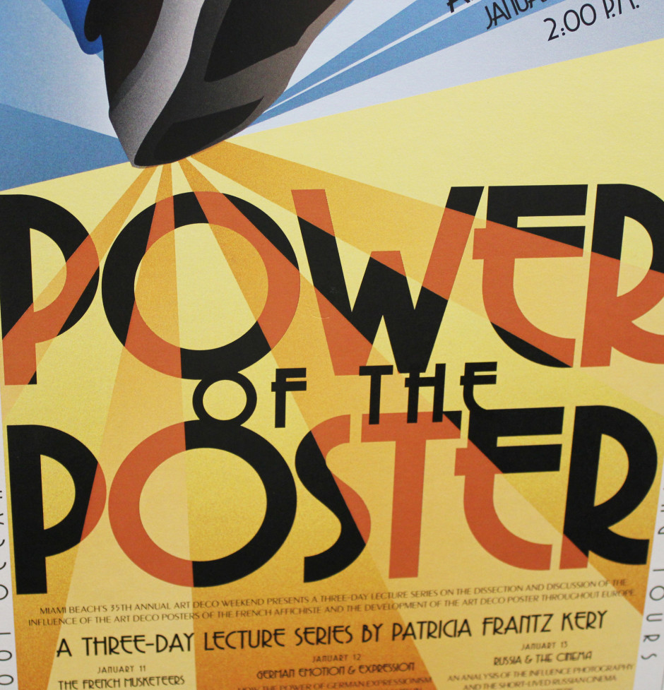 Power of the Poster