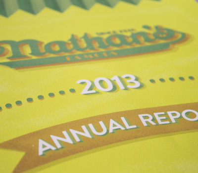 Nathan's Famous Annual Report
