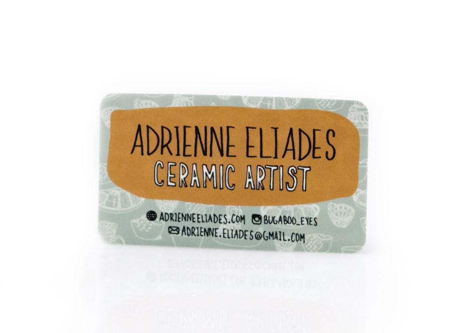 Branding: Adrienne Eliades – Ceramic Artist